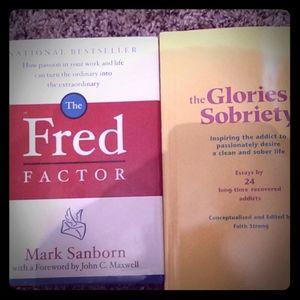 2 Like New Sobriety Books